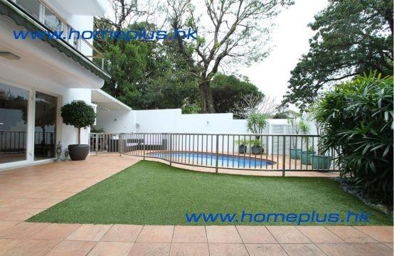 SaiKung Village House with garden & pool  SPS1037