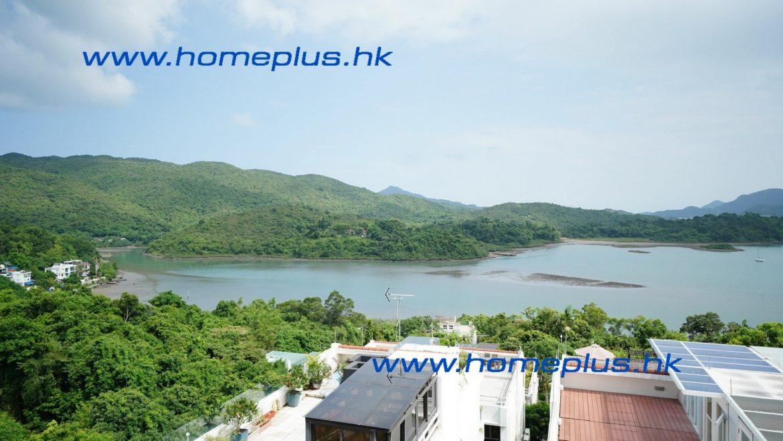 西貢村屋 單邊花園 海景 品味裝修 SPS582 | 盈嘉置業 HOMEPLUS